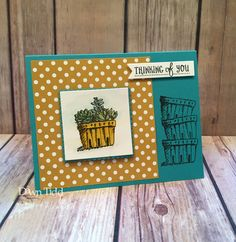 Basket of Wishes by marmie43gs - Cards and Paper Crafts at Splitcoaststampers