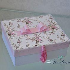 Finalizando com uma das caixas mais finas que já fizemos! Perfeita!  #AnaLuisachegou #nascimentoFinoGosto #fotosfabiojordão