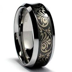 8MM Concave Black Laser Etched Tungsten Carbide Ring Wedding Band Size 7 http://www.amazon.com/gp/product/B0046JWDMO/ref=as_li_ss_il?ie=UTF8=dungvu-20=as2=1789=390957=B0046JWDMO