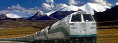 The best way to see the landscape and mountains of Tibet is to take the train from any of the offered places to Lhasa, Tibet. Tibet is one of best places on earth that is a must see place.