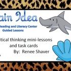 This is a 26 page common core-aligned unit that focuses on the critical thinking skill, main idea.It is nonfiction and ocean themed with high inte...