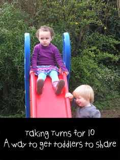 A simple way to encourage toddlers to share - it really works!