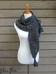 Ravelry: Early Morning Wrap pattern by Fiber Flux / Jennifer Dickerson Poncho Au Crochet, Beau Crochet, Mode Crochet, Crochet Patron, Crochet Gratis, Crochet Shawls And Wraps, Crochet Scarves, Diy Crochet, Crochet Clothes