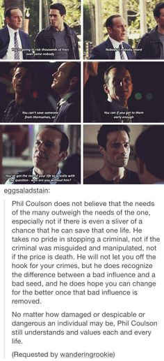 Coulson is such a beautiful person I love him so much