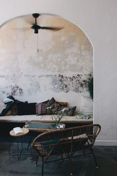 greige: interior design ideas and inspiration for the transitional home : Boho outdoor space.