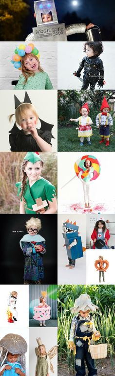 Scouted: 23 amazingly genius and totally adorable DIY Halloween costumes for kids.