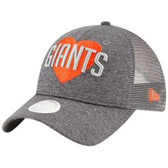 best sneakers 1affe 23bfb Women s San Francisco Giants New Era Graphite Snapped Love 9TWENTY Adjustable  Hat, Your Price   23.99