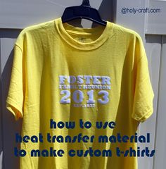 1000 images about heat transfer on pinterest heat for Customized heat transfers for t shirts