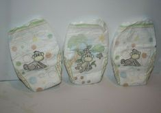Reborn Baby Doll Diapers Lot of 3 Monkey Print Disposable Nappy Costco 2007 NEW Nursery Accessories, Disposable Diapers, Reborn Baby Dolls, Costco, Plush Dolls, Beautiful Dolls, Monkey, Chibi, Ebay
