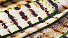 Grilled Zucchini Salad Recipe with Cilantro Lime Dressing