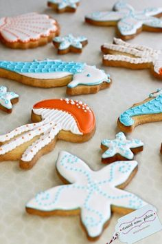 .cookie cutter sea shapes