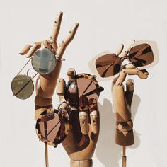 "FENWICK, Bond Street, London, UK, ""London's glorious sunny day sustaining our eyewear addiction"", (Otto Mila, Miu Miu and Marni), pinned by Ton van der Veer"