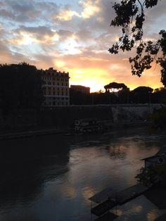 .. Tramonto a Roma