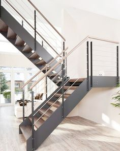 Stahltreppe grau Stahltreppe grau The post Stahltreppe grau appeared first on Flur ideen. Stahltreppe grau Stahltreppe grau The post Stahltreppe grau appeared first on Flur ideen. Barn Homes Floor Plans, Metal Barn Homes, Barn House Plans, Metal Building Homes, House Staircase, Open Staircase, Staircase Railings, Railing Design, Staircase Design