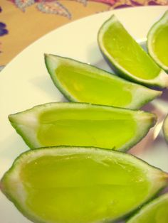 Lime Jello Shots - get in the St. Patty's Day spirit ;) #cocktail #drink #alcohol