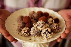 How To Make Dairy Free Chocolate Truffles- Jaime Oliver