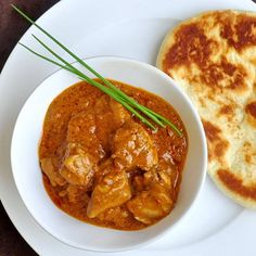 Quick & Easy Butter Chicken...can't wait to try this...my daycare provider makes the best butter chicken...wonder how this will measure up Boneless Chicken Thighs, Rock Recipes, Butter Chicken, Chicken Curry, St John's, Homemade Butter, Healthy Chicken, Chicken Recipes, International Recipes