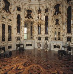 Vienna - Schönbrunn Palace -- amazing floor here (actually, amazing everything at the palace)