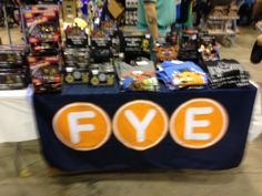 F.Y.E. booth at August 2016 Wizard World Chicago Comic-Con