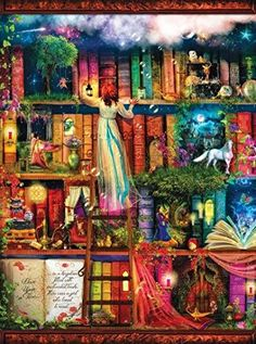 Treasure Hunt Bookshelf 1000 pc Jigsaw Puzzle SunsOut https://www.amazon.com/dp/B00OFVDRZA/ref=cm_sw_r_pi_dp_x_nwKfzb94ZQHWR