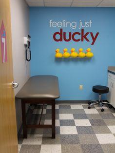 Project Denneler: Now Open - Redbud Pediatrics (West)! School Nurse Office, School Nursing, Children's Clinic, Office Waiting Rooms, Cuba, Chiropractic Office, Medical Office Design, Clinic Design, Doctor Office