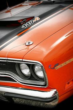 1970 Plymouth Road Runner 440 - by Gordon Dean II