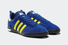 Palace x adidas Originals Indoor Gazelle (Blue/Yellow/Gold) Trainers - UK 10  #PalaceAdidas #Trainers