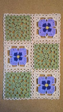 Ideas Crochet Afghan Squares Patchwork Blanket Knitting Patterns For 2019 3 Ideas - Knitting Ideas Point Granny Au Crochet, Crochet Squares Afghan, Granny Square Crochet Pattern, Crochet Blocks, Afghan Crochet Patterns, Crochet Motif, Crochet Designs, Knitting Patterns, Granny Squares