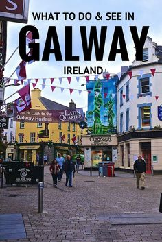 Gateway to Ireland's West Coast What To Do & See in Galway, Ireland. Click the pin to read the post from What To Do & See in Galway, Ireland. Click the pin to read the post from Scotland Travel, Ireland Travel, Scotland Trip, Places To Travel, Travel Destinations, England Ireland, Excursion, Ireland Vacation, Future Travel