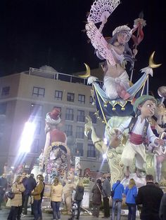 Valencia, Spain, during Fallas - amazing tradition..