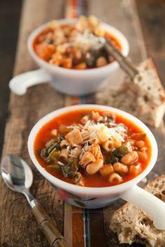 Paula Deen turkey minestrone | Just a good recipe