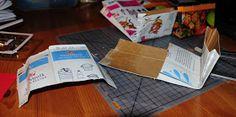 Villmarkshjerte: Hvordan lage en melkekartong-lommebok!!! Paper Shopping Bag, Tableware, Crafts, Home Decor, Dinnerware, Manualidades, Decoration Home, Dishes, Handmade Crafts