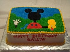 Are You looking for the Mickey Mouse Clubhouse Cake for Kids and teens birthday Party?Want Mickey mouse and his friends shaped cake designs as...