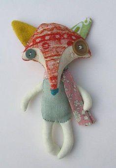 Kuscheltier # handmadetoys  #kidsdecor  #sewing toys