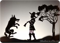 Shadow Puppets: Little Red Riding Hood and More