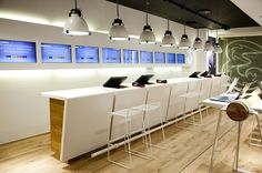 3 MOBILE store by Riis Retail, Aarhus Denmark store design: Retail Store Design, Retail Shop, Retail Bank, Aarhus, Visual Merchandising, Mobile Shop, 3 Mobile, Retail Counter, Pharmacy Design