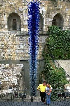 Dale Chihuly - Artist - BLUE TOWER JERUSALEM