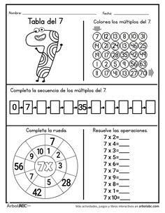 Math Subtraction Worksheets, Kindergarten Addition Worksheets, Math Coloring Worksheets, Learning Multiplication, 3rd Grade Math Worksheets, Homeschool Worksheets, 1st Grade Math, Math For Kids, Fun Math