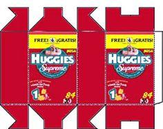 Huggies rood