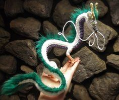 Haku Amigurumi - Precarious Perch by SilverTwilight05