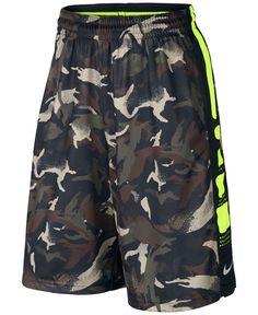Nike Elite Striped Camo Dri-fit Basketball Shorts b088baead