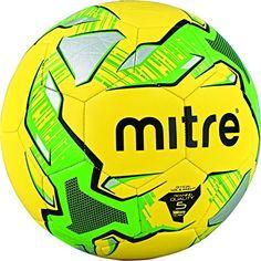 MITRE Impel jaune 12 Training Ballons De Football plus Mitre Sac 2018