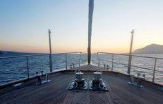 Satori Luxury Sailing Yacht: Bow