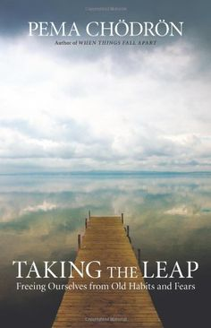Taking the Leap: Freeing Ourselves from Old Habits and Fears by Pema Chodron, http://www.amazon.co.uk/dp/1590308433/ref=cm_sw_r_pi_dp_8p.Dsb0XWNSF5