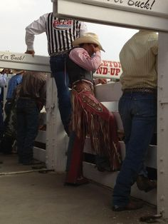 World Champion Saddle Bronc Rider Jesse Wright during the 2012 Pendleton Round-Up. #TeamWrangler