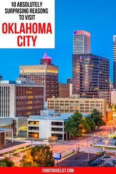You will be amazed by how much there is to see and do in Oklahoma City. Museums, gardens, fun shopping districts and of course so much food to try.  #SeeOKC #FoodTravel #OklahomaCity