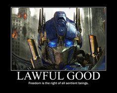 Lawful Good Optimus Prime by 4thehorde.deviantart.com on @DeviantArt