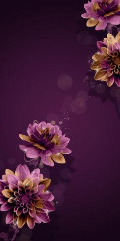 Floral wallpaper desktop pattern flower New ideas Flor Iphone Wallpaper, Floral Wallpaper Desktop, Flower Background Wallpaper, Glitter Wallpaper, Purple Wallpaper, Butterfly Wallpaper, Cute Wallpaper Backgrounds, Cellphone Wallpaper, Flower Backgrounds