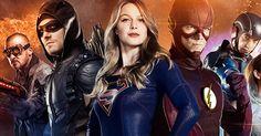 http://Arrow, Flash, Legends of Tomorrow y Supergirl. Trailers de mitad de temporada
