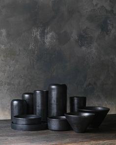 Ceramic vase Pottery Vase Dark Vase Decor Flower vase Pottery Vase, Modern Ceramic Vase, Ceramic Utensil, Pottery Gift, Ceramic utensil jar by MomopotteryStudio on Etsy